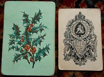 "Antique Playing Cards  "" JOSEPH HUNT AND SONS ""   c.1872"