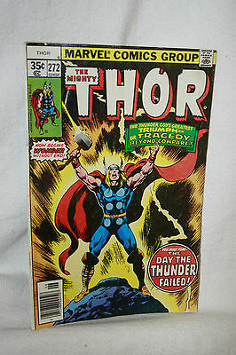 Marvel Comics Book The Mighty Thor No. 272 June 1978