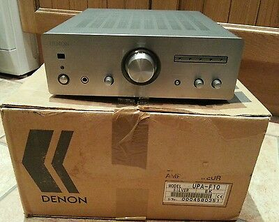 denon upa-f10 integrated stereo amplifier