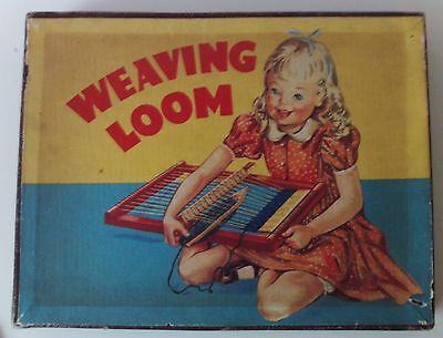 Vintage Boxed Toy Weaving Loom 1940`s/50`s ?