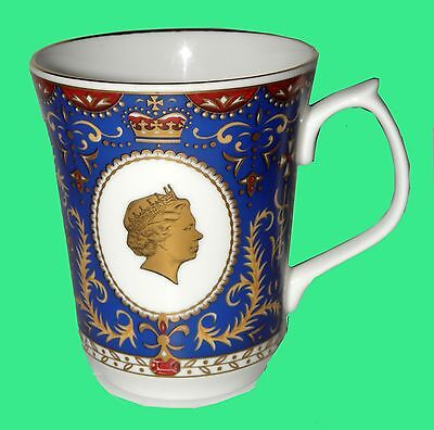 "RINGTONS FINE BONE CHINA CUP ~"" 80 th BIRTHDAY OF QUEEN ELIZABETH II"