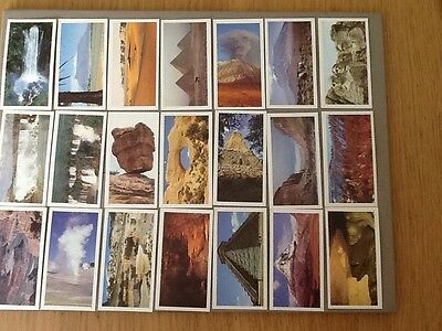 Brooke Bond - Features Of The World, Cards