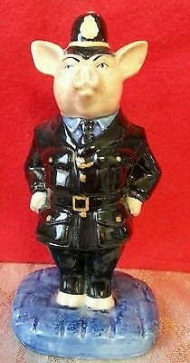 Bairstow Manor Pigs Of Piglet Manor Limited Edition - Policeman Figure