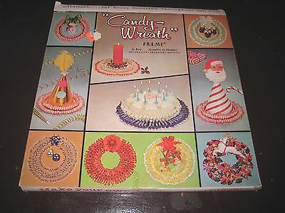 Vintage Candy Wreath Frame - Easy To Do - Just Add Candy - Reuseable