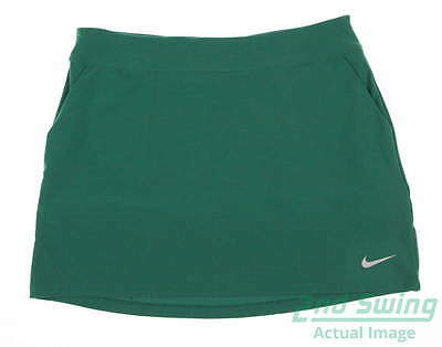 New Womens Nike Tournament Knit Skort Size Small S Green MSRP $75 726172 319