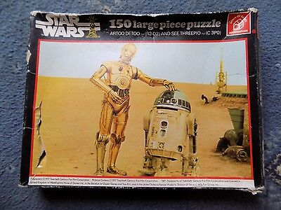 Classic Vintage Original Star Wars Puzzle Year 1977