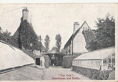 Fair Oak     Greenhouse And Stables