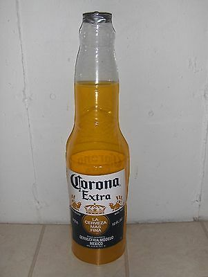 "Corona Extra Hanging Standing Inflatable Bottle New 30"" Tall Beer Sign"