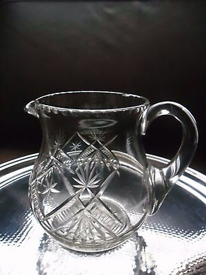 Lovely Cut Glass Water Jug