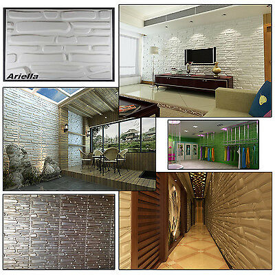 3D Wall panel Decorative Wall Brick Effect tiles Natural Bamboo Wallpaper 6 sqm