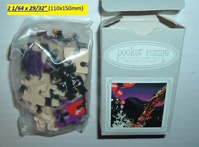 OLD Coca Cola VINTAGE Soda Pop POCKET PUZZLE 27 Years Old Mint in Box