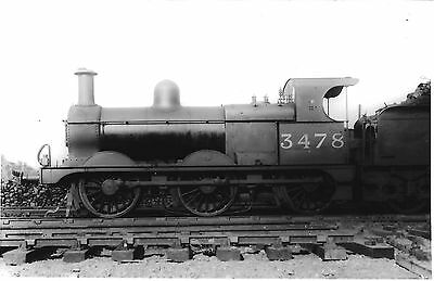 LMS No. 3478  JOHNSON '3F' CLASS 0-6-0 - CRICKLEWOOD SHED 1930