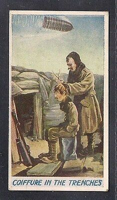 R & J Hill. Fragments from France. 1916. 'Coiffure in the Trenches'. VG+