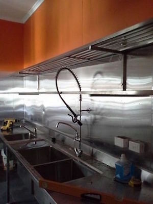 Shop Fitting Services -  Restaurant - Kitchen - Stainless Steel -