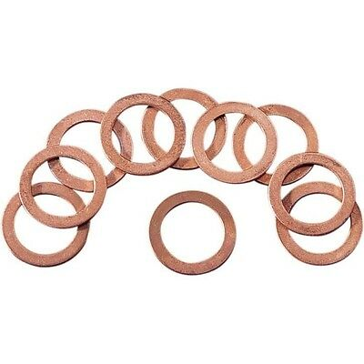 Copper Crush Washers for Cylinder Bolt Eastern Motorcycle Parts  A-41744-58