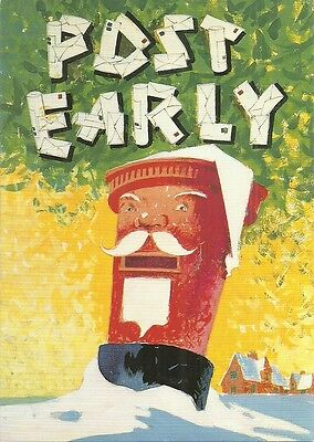 Gpo - Posters Of Yesteryear - 'post Early'   90/1.
