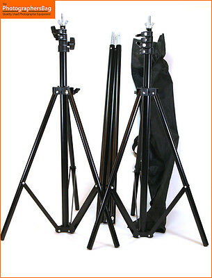 Backdrop Stand set with case (Marked) approx Length 210cm High 185cm Free UK PP