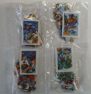 Puzzle completo K 01 n. 109 - 110 - 111 - 112  + 4 cartine
