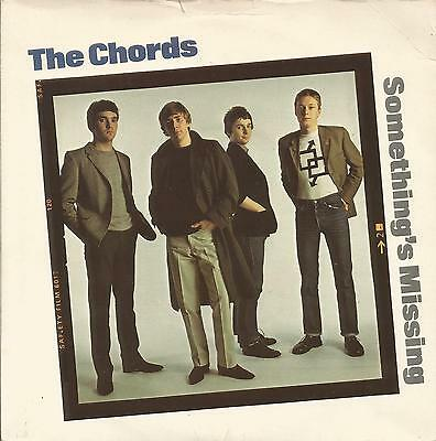 THE CHORDS - Somethings missing / This is what they want  - MOD -  7'' - 45rpm