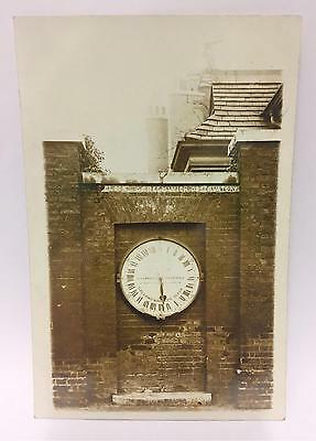 SHEPHERD GATE CLOCK GREENWICH OBSERVATORY 19th CENTURY PHOTOGRAPHIC POSTCARD