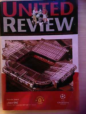 Manchester United V Lille 2001/02 - Champions League