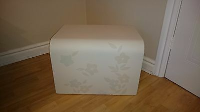 Shabby Chic Side End Lamp Coffee Table/stool
