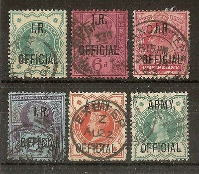 GB QV-EDVII Collection of Used Officials (26v)