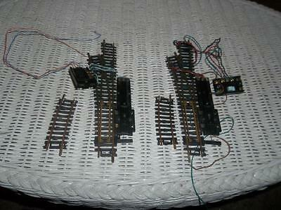 Set Ho Scale Code 100 Atlas Powered Right Handed Track Switches Switch Button
