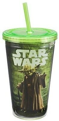 Star Wars Yoda 18 Ounce Acrylic Travel Cup Misc
