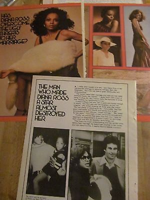 Diana Ross, Three Page Vintage Clipping