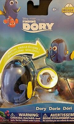 New Finding Dory Hatch 'n Heroes BLUE DORY  Hatching Egg TOY nemo DISNEY NEW