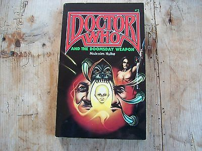 Doctor who book, AND THE DOOMSDAY WEAPON BY Malcolm Hulke No 2