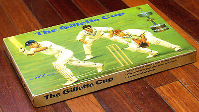 1970 GILLETTE CUP One Day Knockout Cricket Vintage Board Game by Ariel London UK