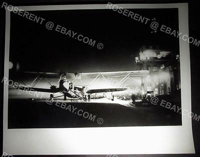 c1930s Imperial Airways HP42 at Croydon - later Press Photo  -25 by 20cm