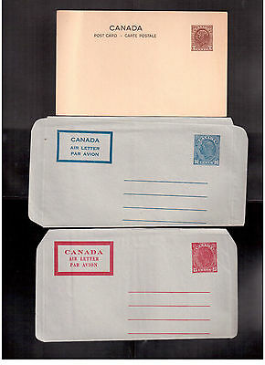 Canada Mint Stationaries Lot Of 8, Please Look !!
