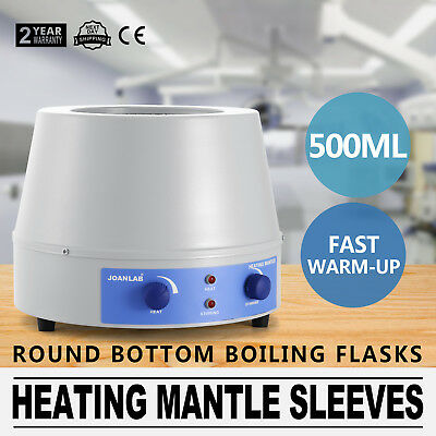 500ml Heating Mantle with Magnetic Stirrer 110V 998-2-B Series  250W 1600rpm