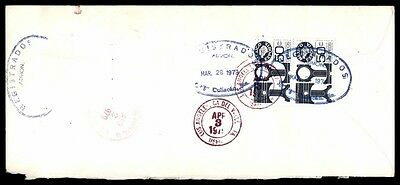 March 29 1979 Mexico Airmail Registered Cover To Los Angeles Ca Usa