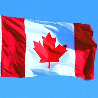 New Canadian Flag Canada Maple Leaf Banner Polyester Outdoor 3FT x 5FT ☆