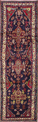 """Hand-knotted Persian Carpet 3'0"""" x 10'7"""" Persian Traditional  Wool Rug"""