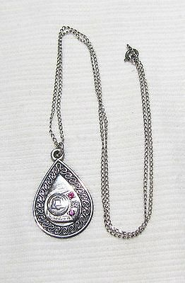 Vintage--Illinois Bell--Necklace With Pendant--Sterling Silver