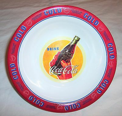 2002 Collectible Gibson Drink Coca-Cola Coke Cereal Bowl