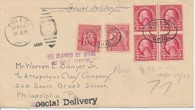 #680 Battle of Fallen Timbers combo uncacheted First Day cover 9/14/1929 Special