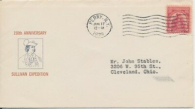 #657 Sullivan Expedition Milton Mauck cachet First Day cover
