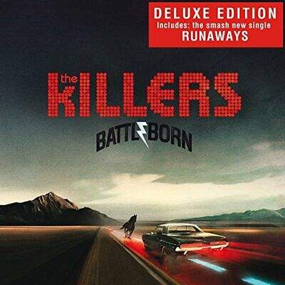 The Killers - Battle Born - The Killers CD VGVG The Cheap Fast Free Post The