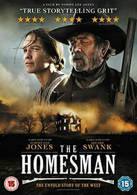 The Homesman [DVD] [2014] - DVD  HSVG The Cheap Fast Free Post