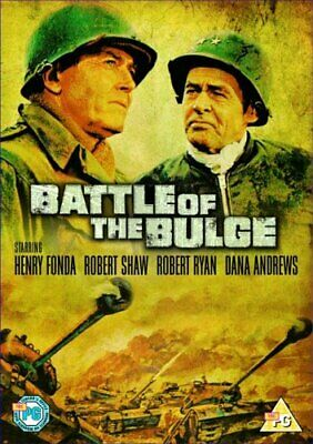 Battle Of The Bulge [DVD] [1965] - DVD  R2VG The Cheap Fast Free Post