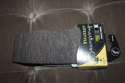 Smartwool Men's Taupe Brown Wool Lifestyle Crew Socks NEW Medium 6-8.5 NWT