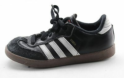 Boy's ADIDAS Black And White Laces Athletic Shoes Size 13