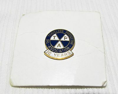 Travelers Protective Association--10 Year Service Pin--Travelers Insurance