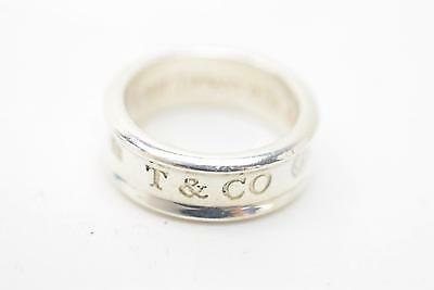 Authentic Tiffany & Co. Ring Band Silver 925 US 5.5  129649